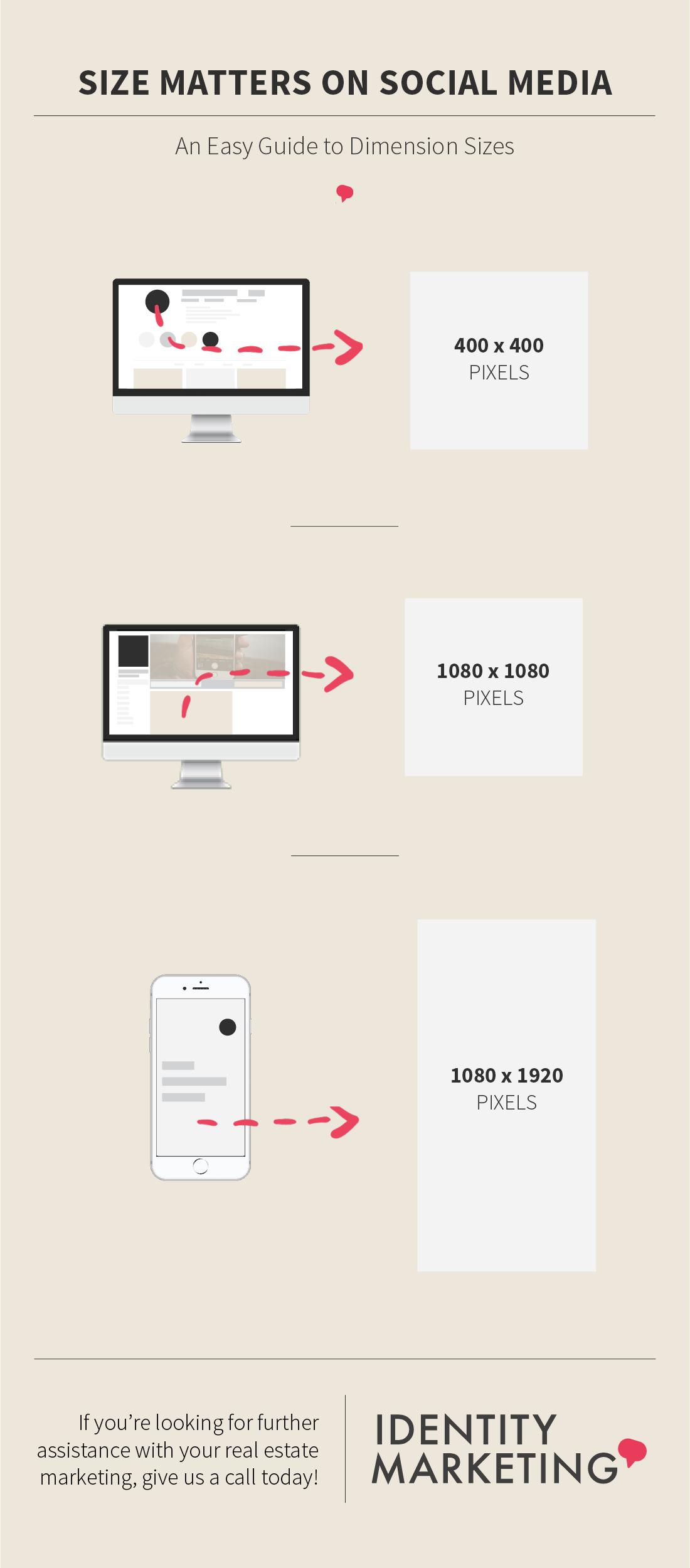 Size Matters on Social Media | Identity Marketing