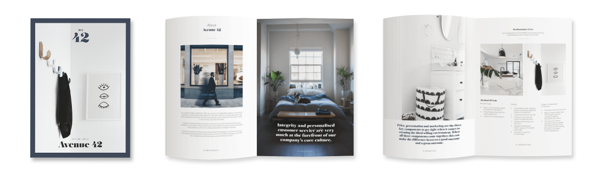Pre-Listing kit - real estate print marketing